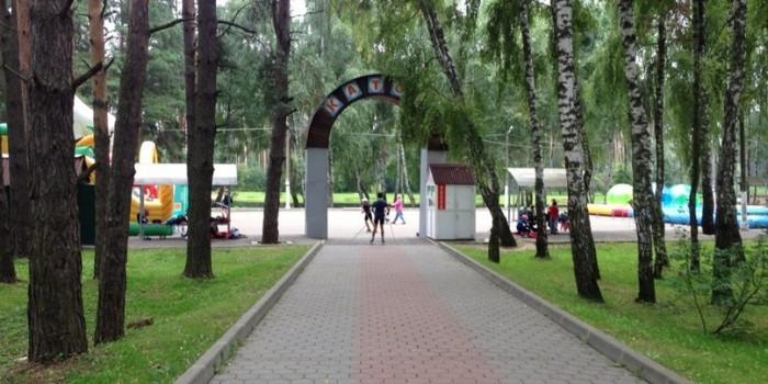 Лето 2014 в ПКиО «Ёлочки»