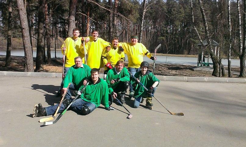 Роллер хоккей в ПКиО «Ёлочки»