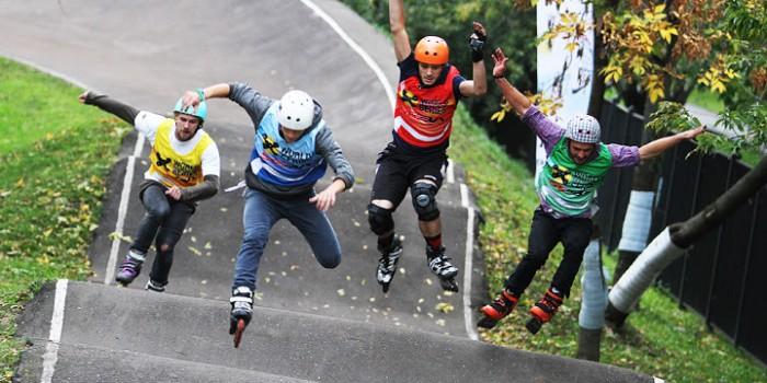Skate-Cross Moscow 2014!