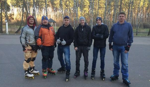 Покатушка  7.11.15 (закрытие сезона 2015)