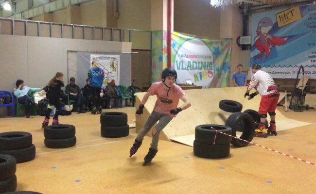 Третье место в скейткроссе Iline Balans Roller Cup