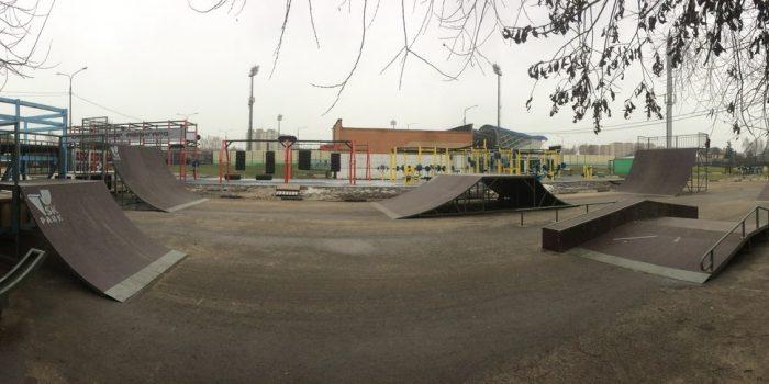 Проект скейт-парка реализован на территории городского стадиона «Авангард»