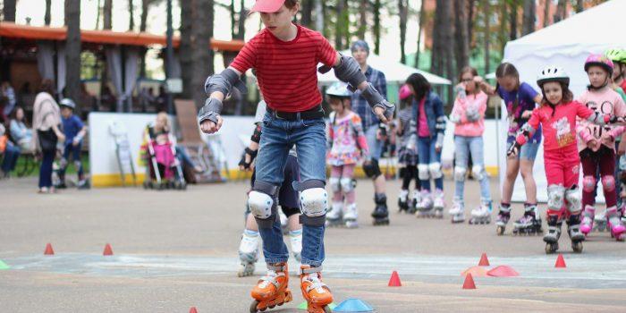 Детские соревнования по роллер-спорту для всех желающих «Kids-Cross Domodedovo»