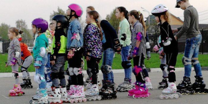 1 ИЮНЯ бесплатные занятия на роликах в честь Дня защиты детей