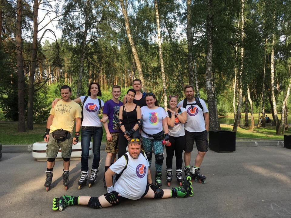 Покатушка на роликах по городу Домодедово